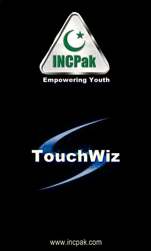 TouchWiz INCPak Startup Logo